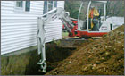 Residential Footing Drain Installation